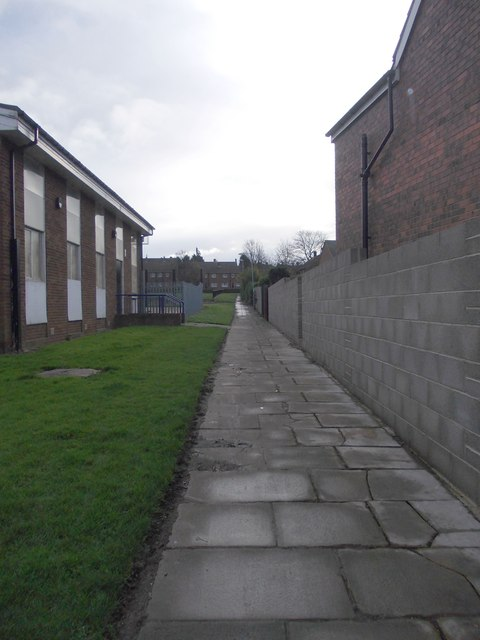 Footpath - West Park Road