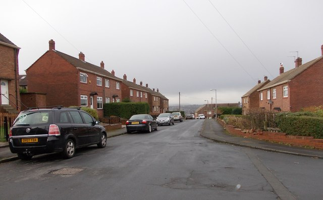 Abbey Road - viewed from Easby Avenue