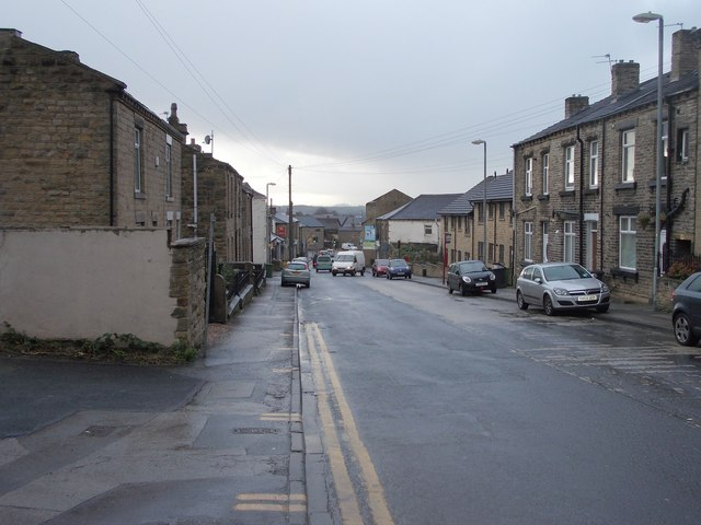 Batley Road - viewed from Common Road