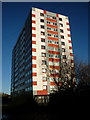 TA1129 : Denaby Court Flats off Holderness Road, Hull by Ian S