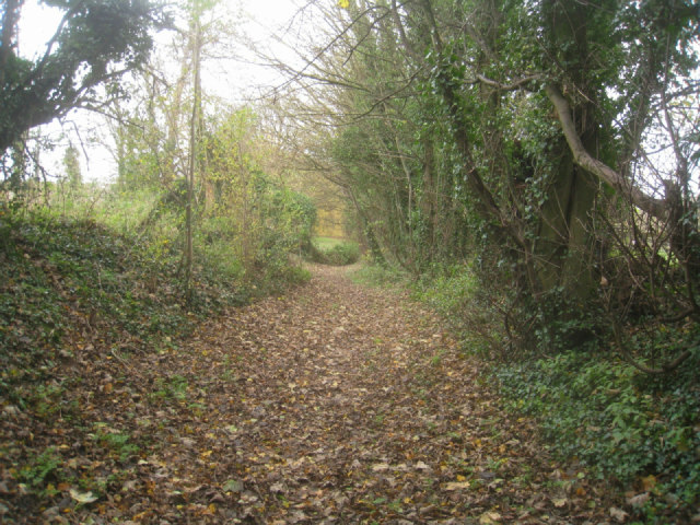 Approaching the byway end