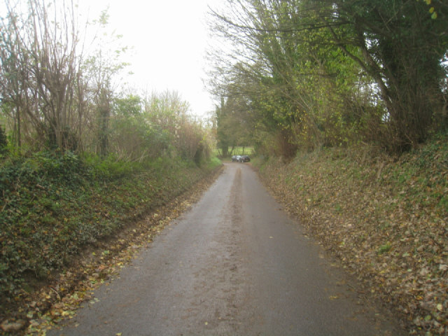 Lane to Monk Sherborne