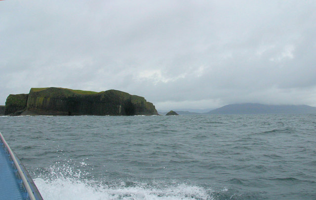 Staffa seen from the southsouth-east