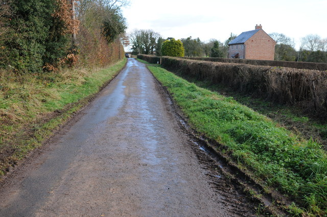 Road to Upper Holbach
