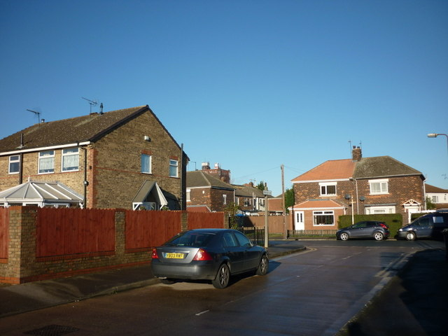 Ashendon Drive at Woodhall Street, Hull