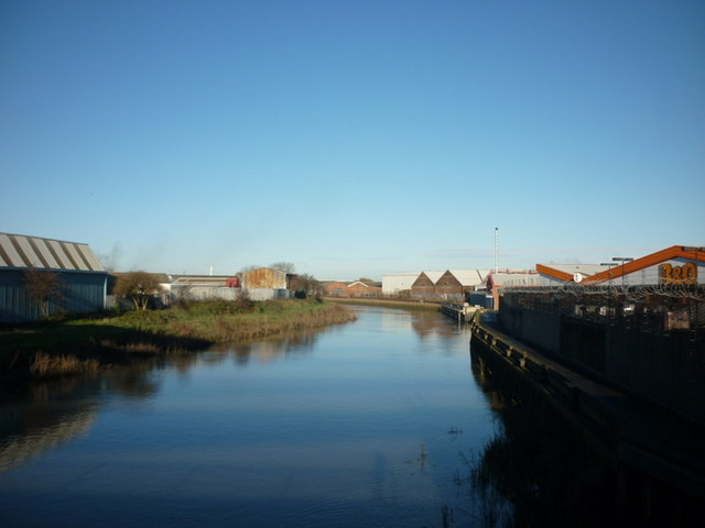 The River Hull at Stoneferry, Hull