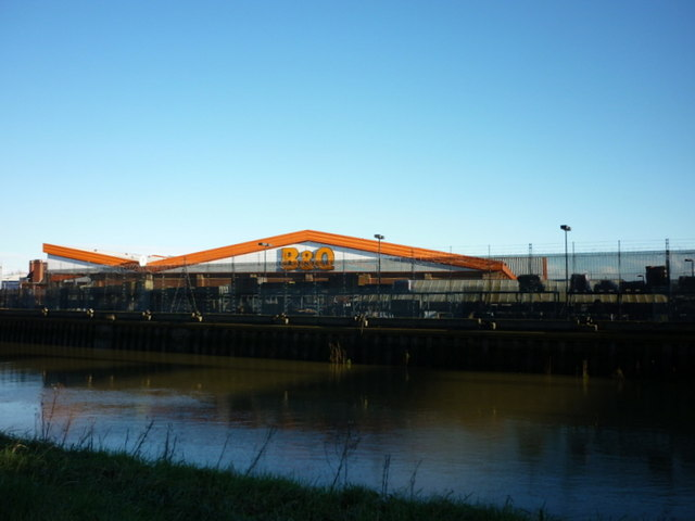 B & Q at Stoneferry, Hull