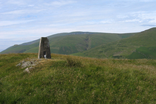 Summit area of Knott Hill