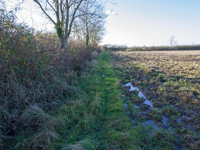 Footpath to Ireland Farm