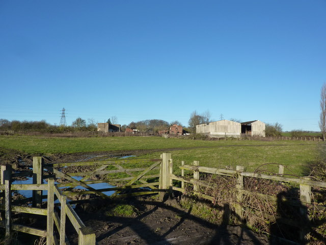 Simonfield, farm buildings