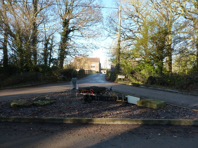 Entrance to Park Hall Farm