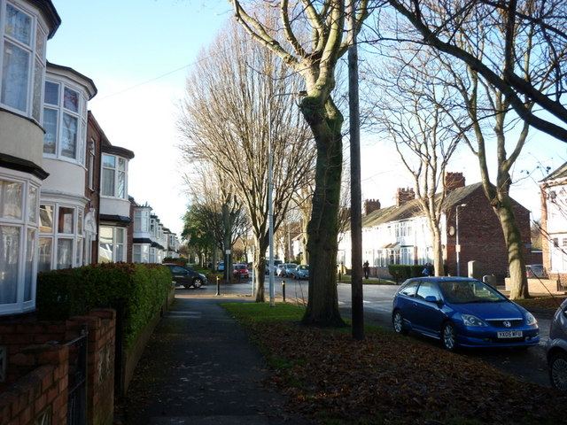 Desmond Avenue off Beverley Road, Hull
