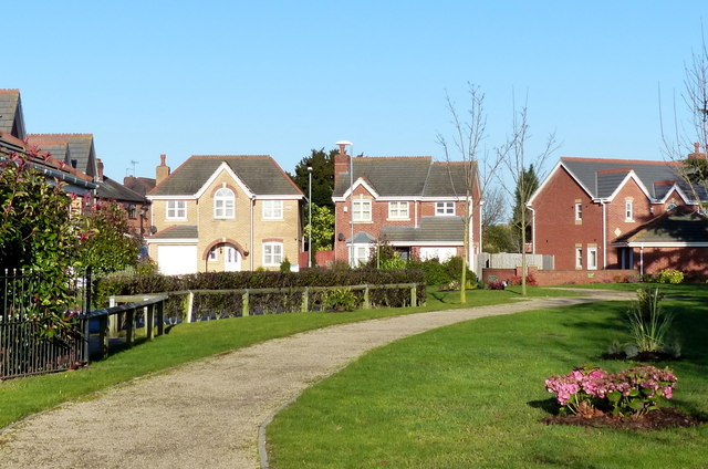New housing along Narborough Road South