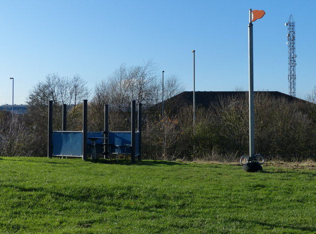 Play area In the Osiers Nature Reserve