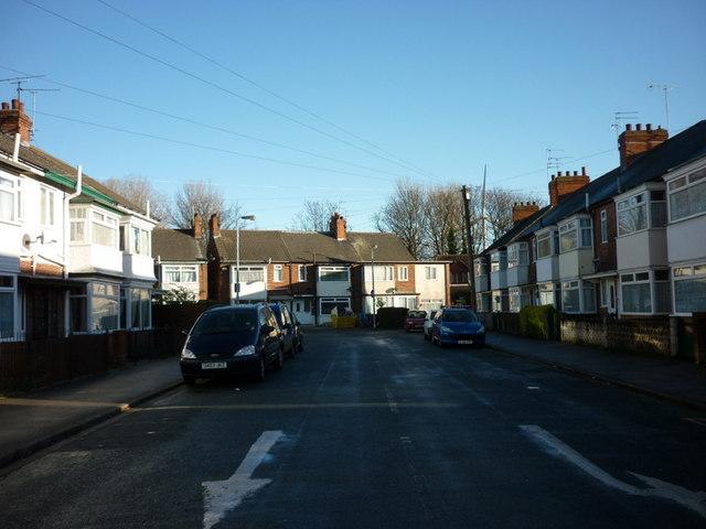 Etherington Drive off Beverley Road, Hull