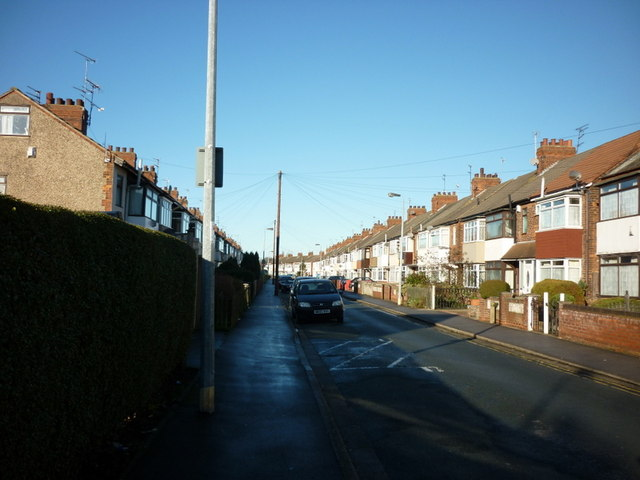 Etherington Drive off Beverley Road, Hull
