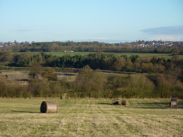 Looking north to Heanor