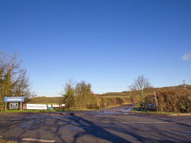 Bridleway to Burton Dassett