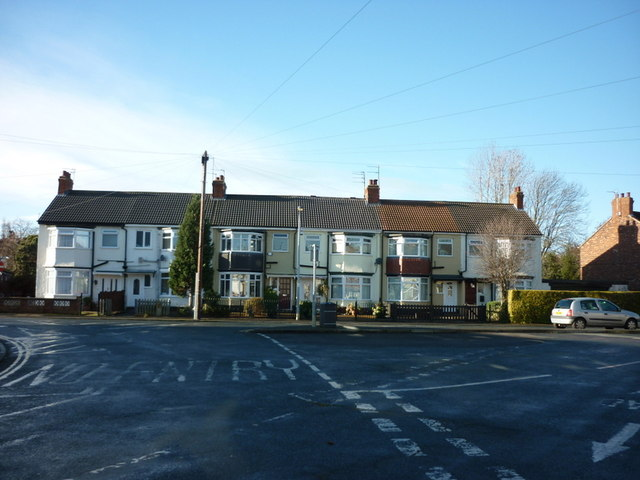 Etherington Road from Etherington Drive, Hull