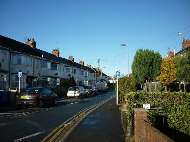 Etherington Road off Beverley Road, Hull