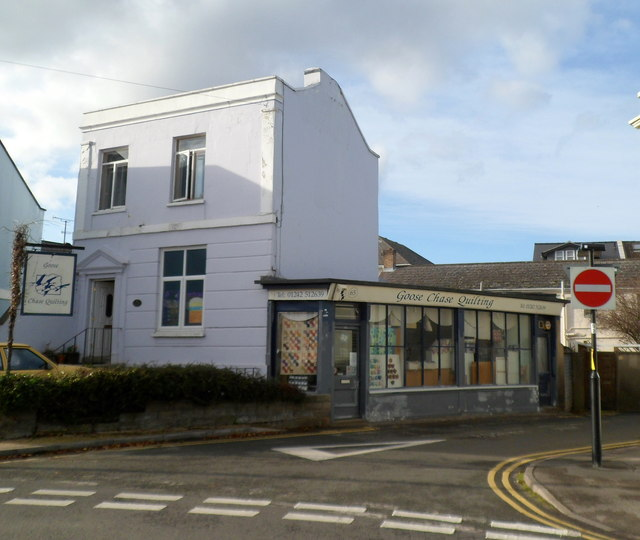 Goose Chase Quilting shop, Cheltenham