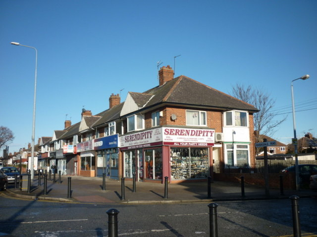 Shops on Beverley Road, Hull