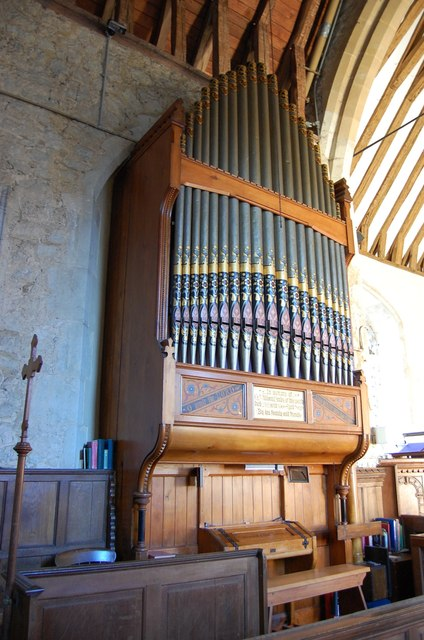 Organ, St Michael's church, Smarden