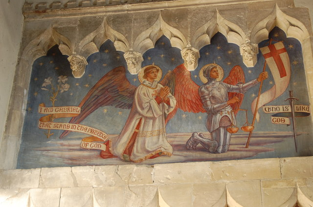 Wall Paintings, St Michael's church, Smarden