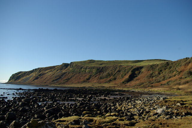 Coastline south of Levencorroch