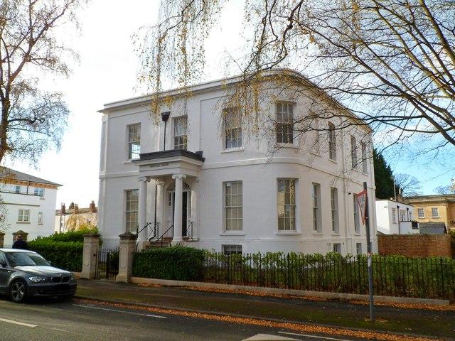 Grade II listed Greville House, Cheltenham