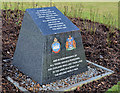 J4973 : Newtownards WWII air raid memorial by Albert Bridge