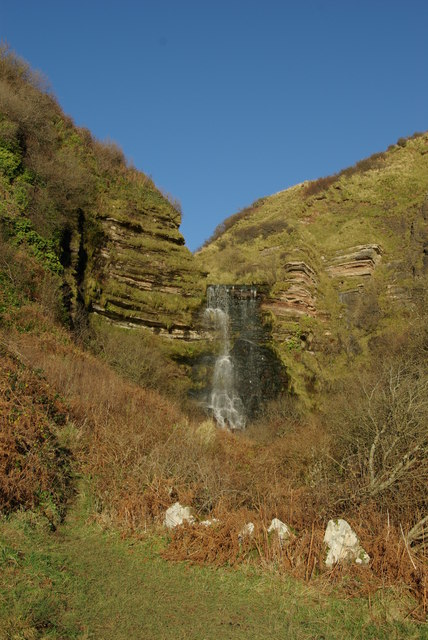 Waterfall on Levencorroch Burn