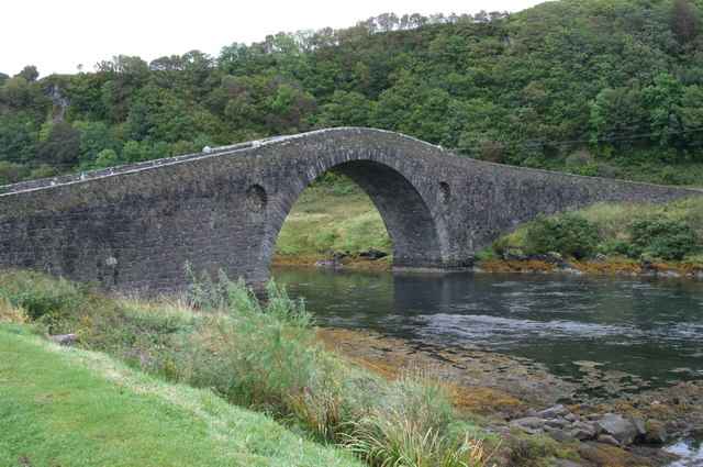 Clachan Bridge, the Atlantic Bridge Sound of Seil