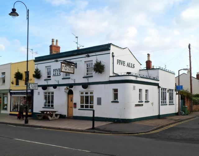 The Five Alls, Cheltenham