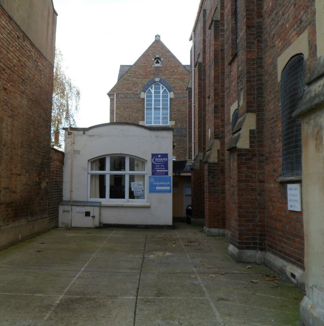 Scout and guide hall, Great Norwood Street, Cheltenham