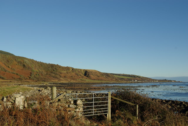 Gate on coastal path near Port a' Ghille Ghlais