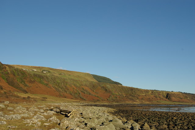 Coastline east of Black Cave