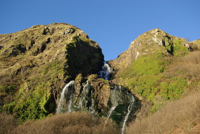 Waterfall at Bennan Head