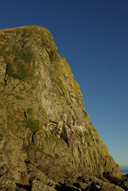 Cliff at Bennan Head