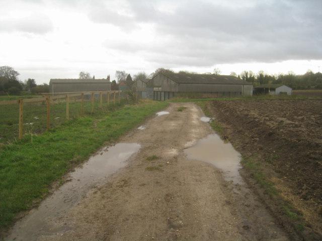 Farm track & Rookery Farm