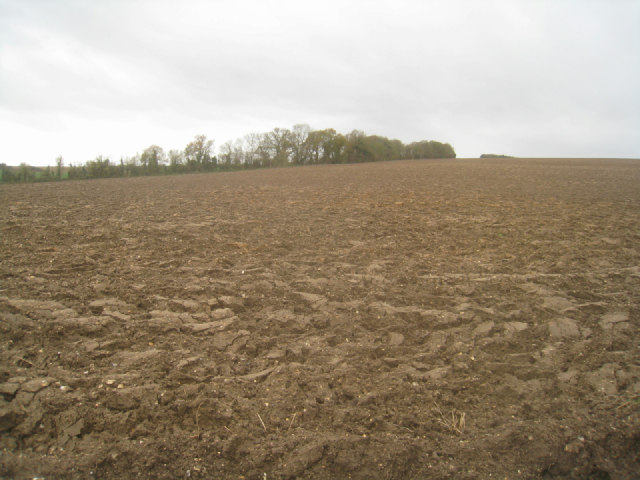 Deep ploughed field - Rookery Farm