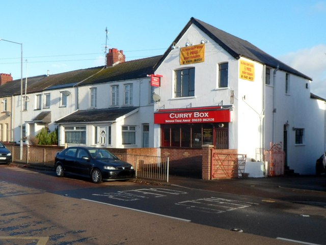 Curry Box, Llantarnam, Cwmbran
