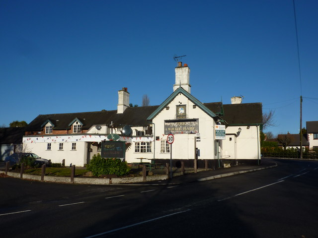 White Hart, pub in West Hallam Common