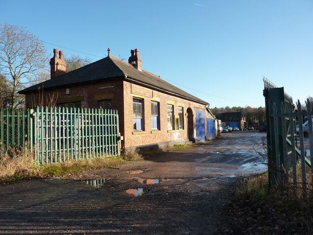 Former railway building