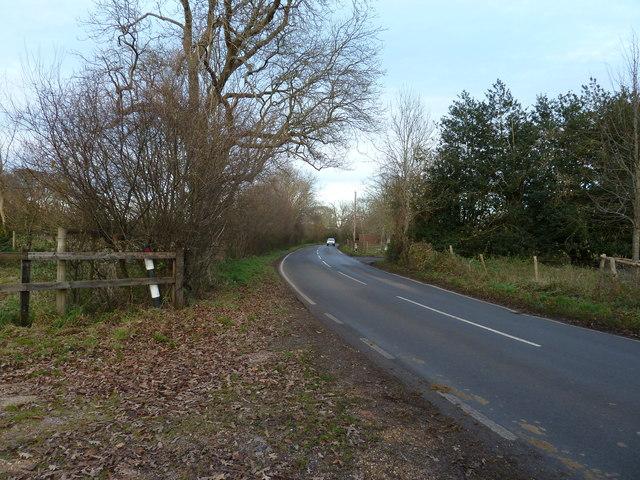 B2146 approaching Walderton