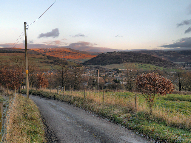 View Towards Old Glossop