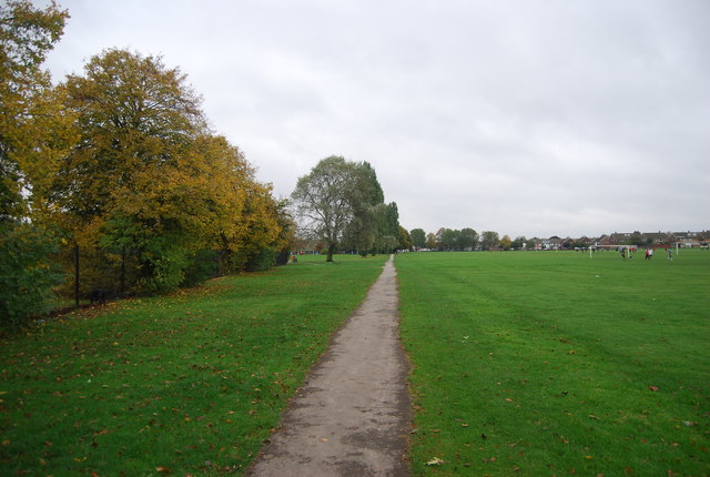 Path across Durants Park