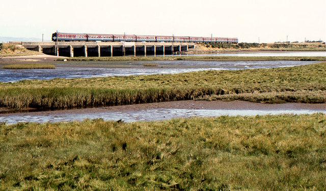The Roe railway bridge near Limavady