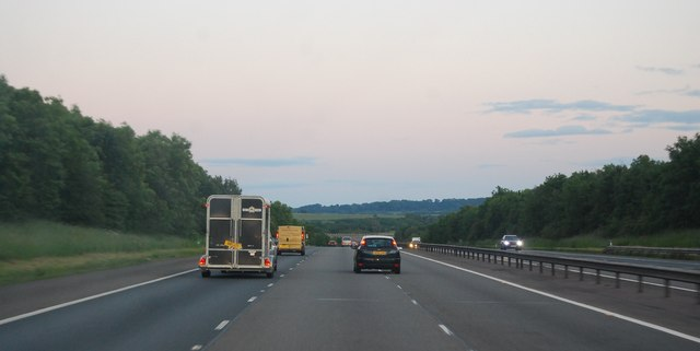 M40 - southbound