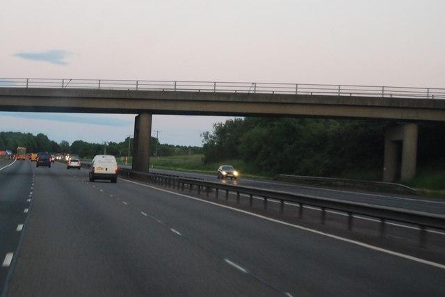 M40, southbound